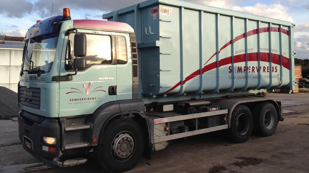 30 m³ container